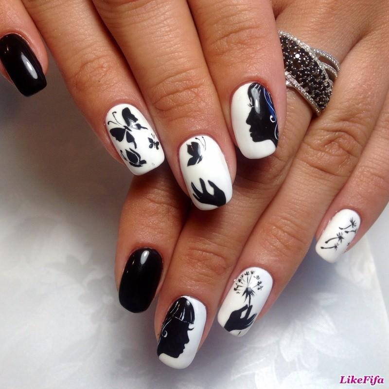 Художественная роспись фото на ногтях