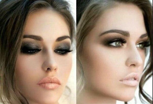 Модный макияж глаз в картинках